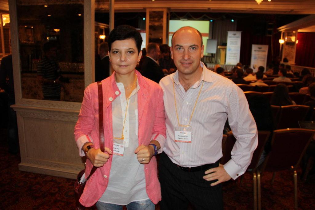 С Александром Евстегнеевым на Мастеринфобиз-2012