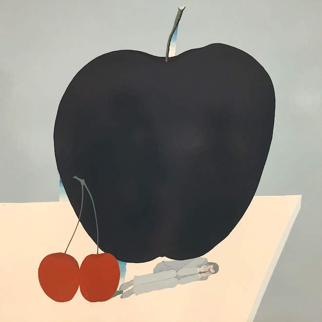 Черное яблоко