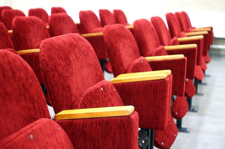 Зал в кинотеатре